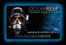 Specialty - Full Face Mask & Communications Diver